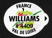 WILLIAMS < 75 mm - Sticks fruits - Poires marché  francais - Modèles val de loire