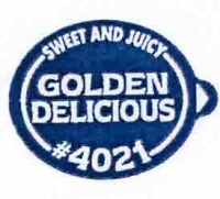 GOLDEN DELICIOUS (sweet an jucy) - Sticks fruits - Pommes export - Asda